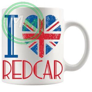 I Love Redcar Mug