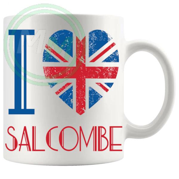 I Love Salcombe Mug