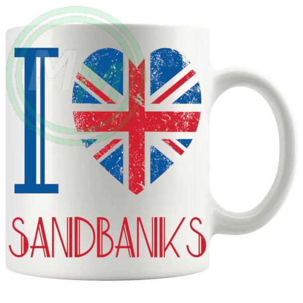 I Love Sandbanks Mug