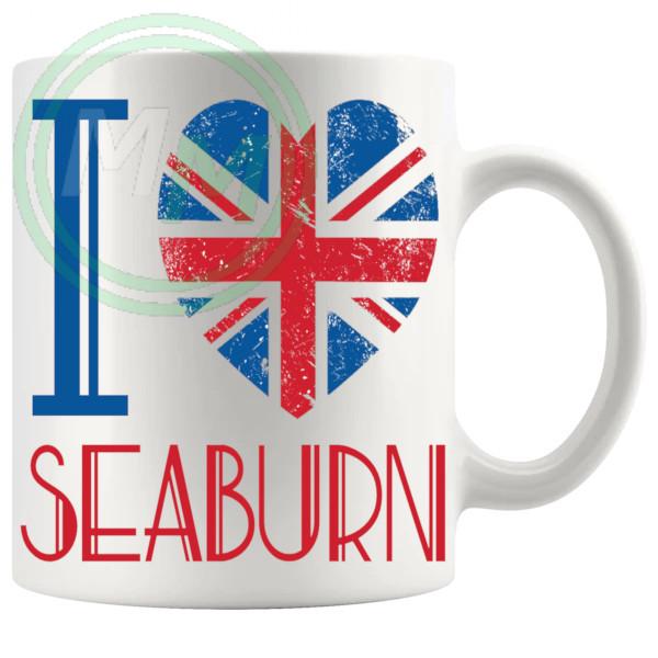 I Love Seaburn Mug