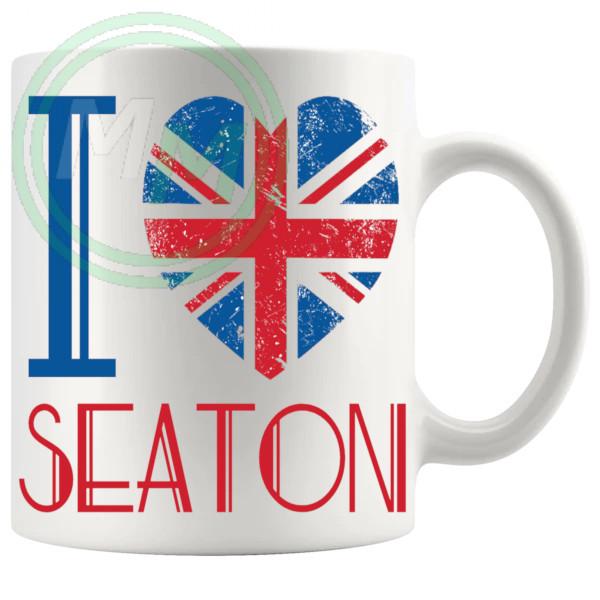 I Love Seaton Mug