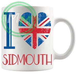 I Love Sidmouth Mug