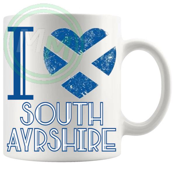 I Love South Ayrshire Mug