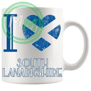 I Love South Lanarkshire Mug