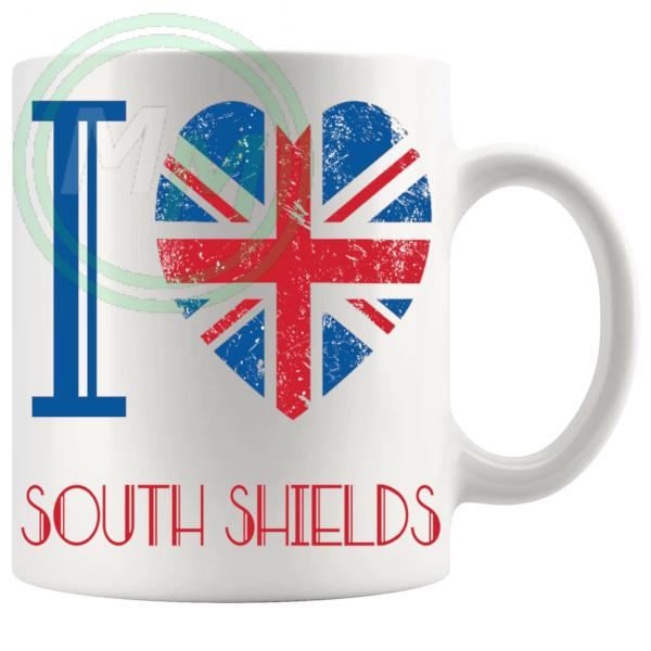 I Love South Shields Mug