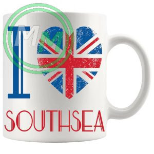 I Love Southsea Mug