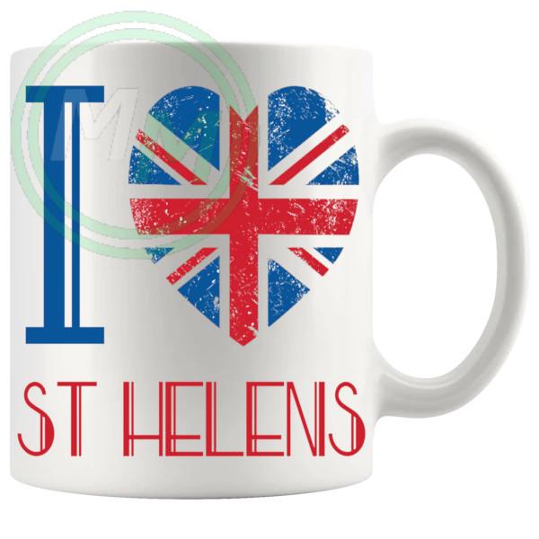I Love St Helens Mug
