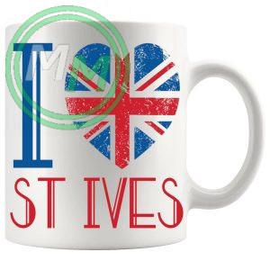 I Love St Ives Mug