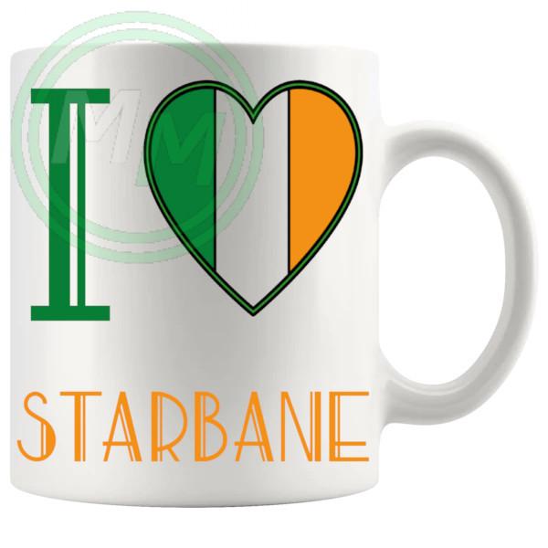 I Love Starbane Mug