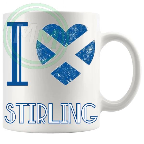 I Love Stirling Mug
