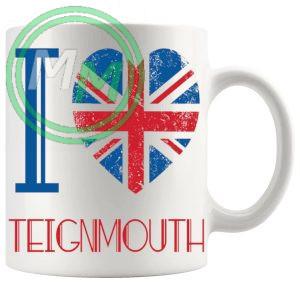 I Love Teignmouth Mug