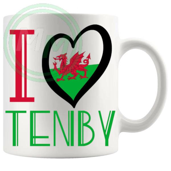 I Love Tenby Mug