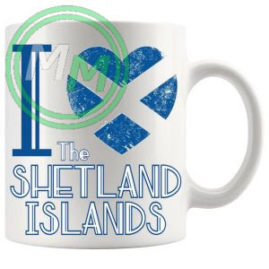 I Love The Shetland Islands Mug