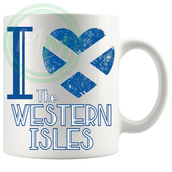 I Love The Western Isles Mug