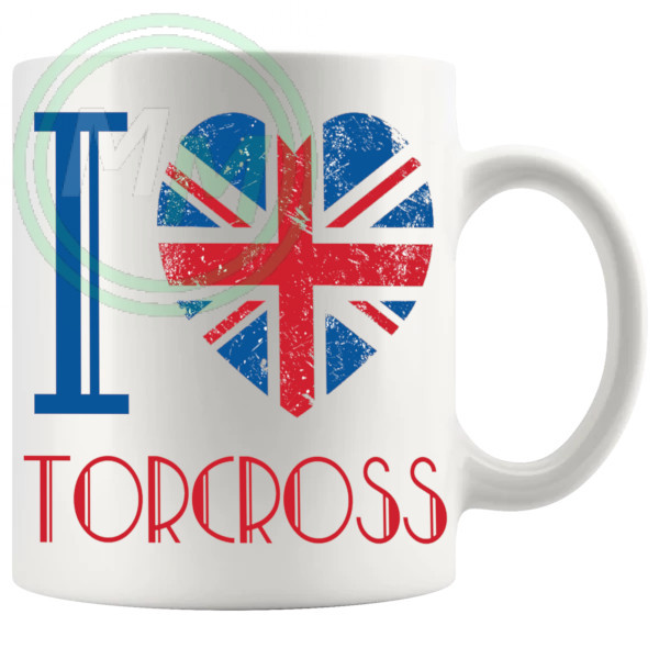 I Love Torcross Mug