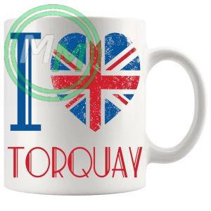 I Love Torquay Mug