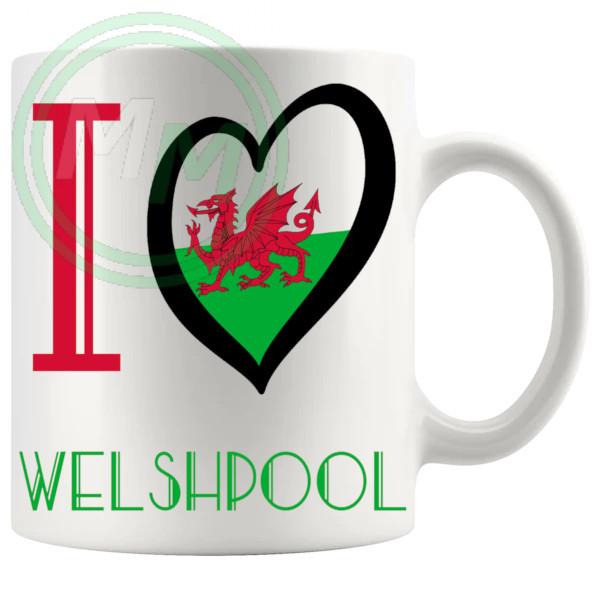 I Love Welshpool Mug