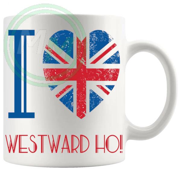 I Love Westward Ho Mug