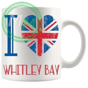 I Love Whitley Bay Mug