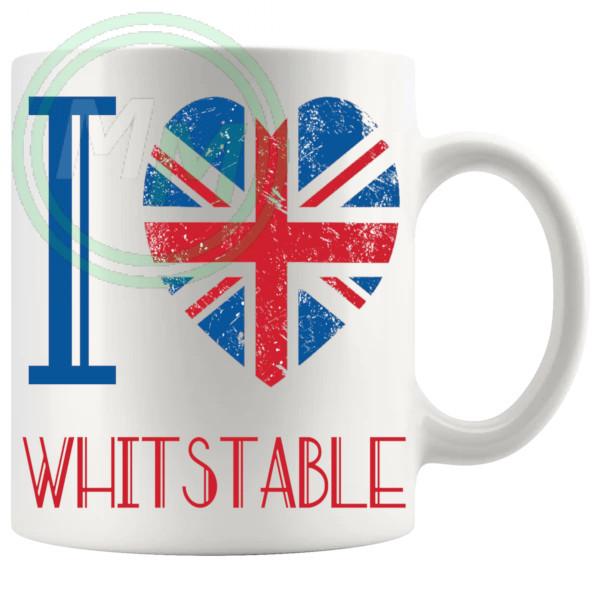 I Love Whitstable Mug