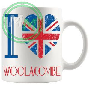 I Love Woolacombe Mug