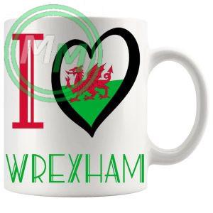 I Love Wrexham Mug