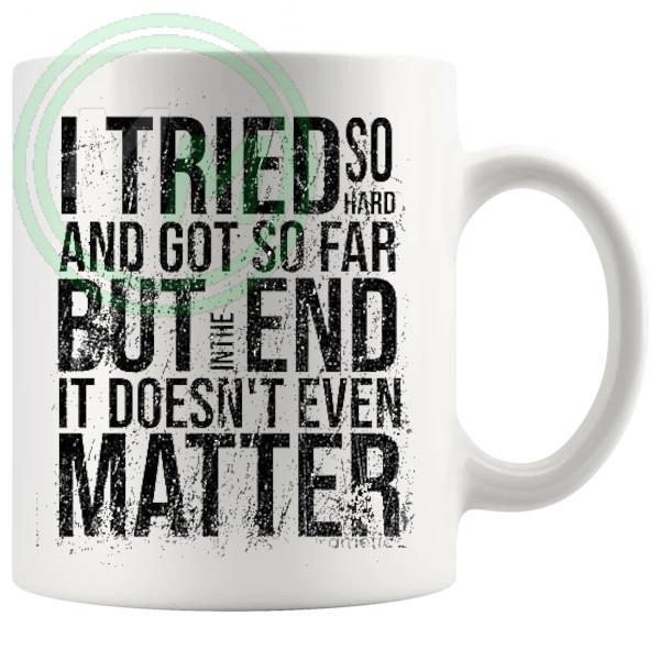 In The End Lyrics Mug