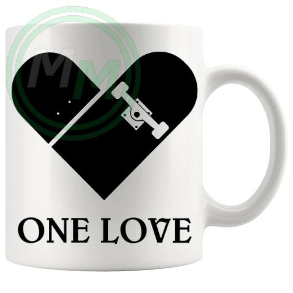 One Love Skating Mug