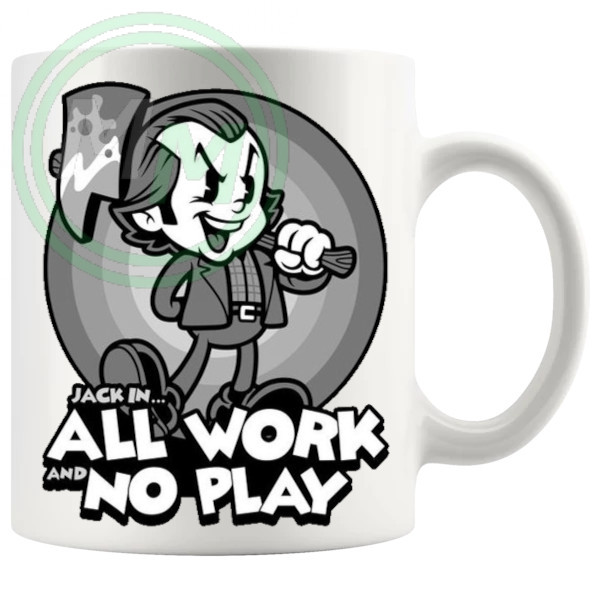 Jack In All Work And No Play Mug