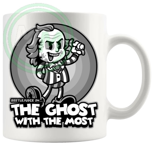 Beetlejuice in The Ghost With The Most Mug
