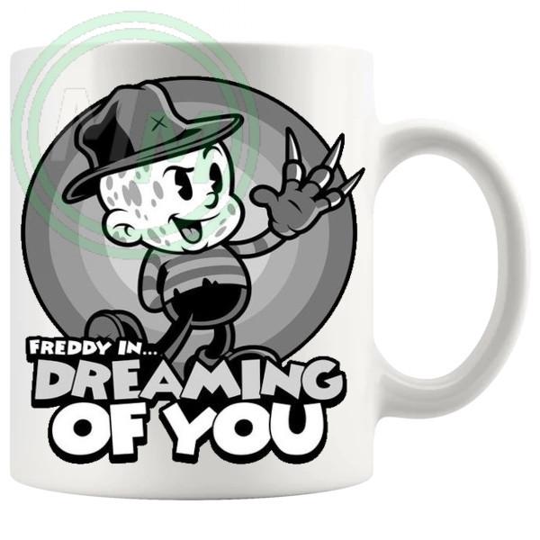 Freddy In Dreaming Of You Mug