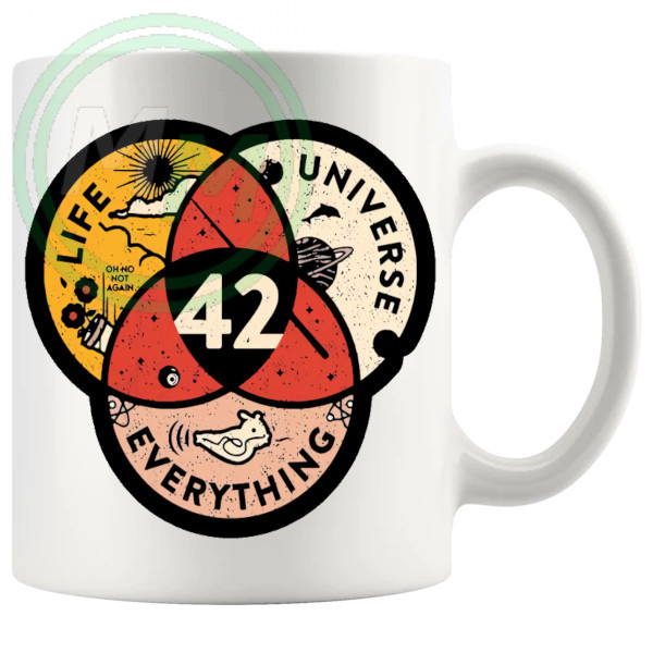 Life The Universe And Everything Mug