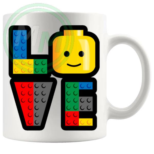 Love Lego MugFunny Mug