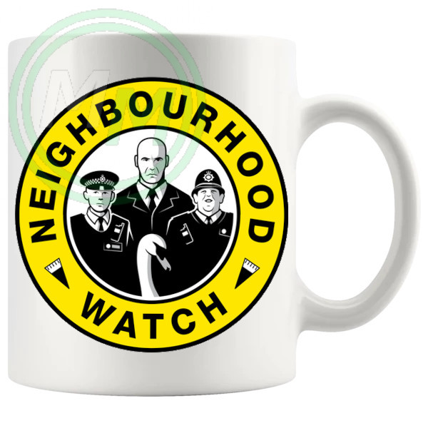 Hot Fuzz Neighbourhood Watch Mug