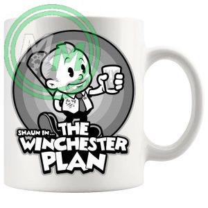 Shaun in The Winchester Plan Mug