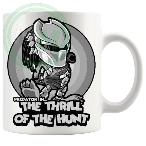 Predator In The Thrill Of The Hunt Mug