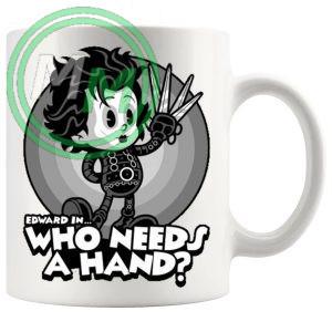Edward In Who Needs A Hand Mug