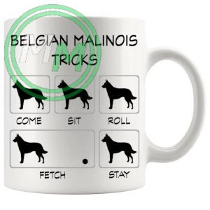 Belgian Malinois Tricks Mug