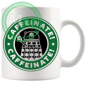 Caffeinate Dalek Mug
