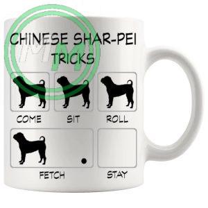Chinese Shar Pei Tricks Mug