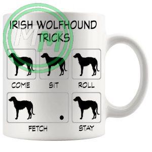 Irish Wolfhound Tricks Mug