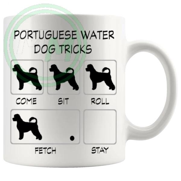 Potuguese Water Dog Tricks Mug 1