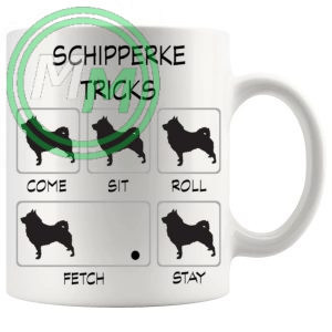 Schipperke Tricks Mug
