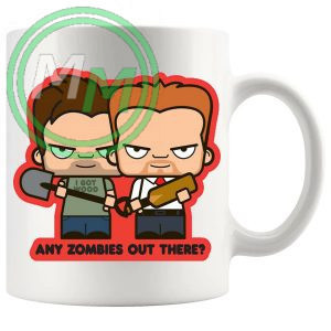 Shaun Of The dead Any Zombies Out There Mug