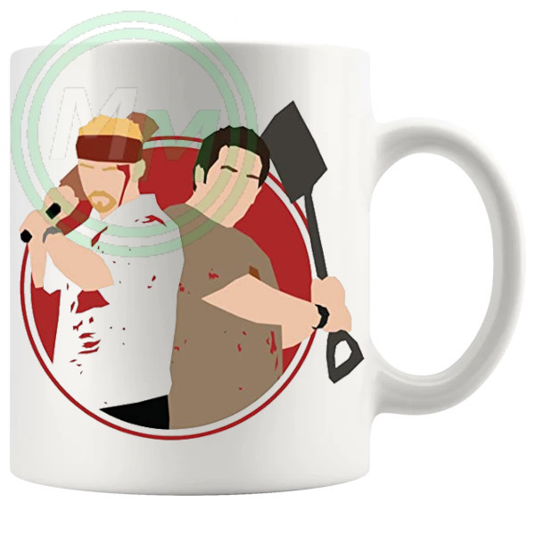 Shaun Of The dead Shaun And Ed Mug