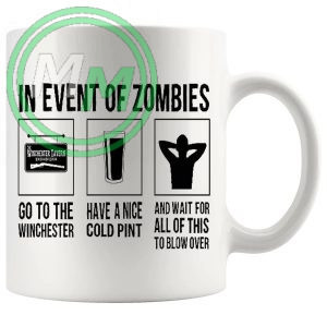 Shaun Of The dead The Winchester Plan Mug