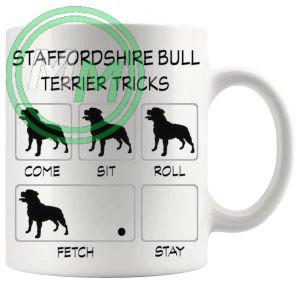 Staffordshire Bull Terrier Tricks Mug