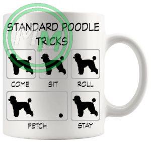Standard Poodle Tricks Mug