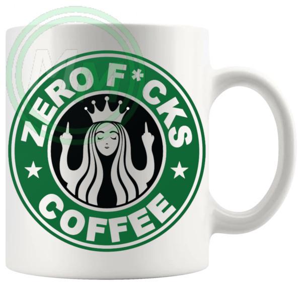 Zero Fucks Coffee Mug