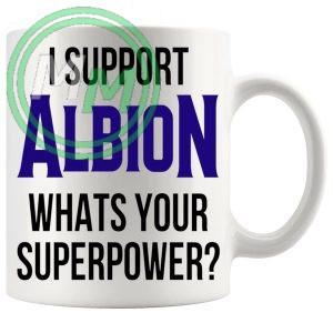 albion fans superpower mug